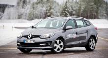 Renault Megane Sport Tourer.