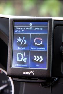 Blutetooth för telefon kommer att erbjudas i form av en liten eftermarknadstillsats.