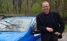 Vår motorjournalist Calle Carlquist befinner sig utanför München där provkörningen äger rum.