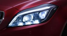 Uppdaterade Mercedes CLS får ny LED-teknik