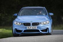 BMW M3 är inget för den blyge. Speciellt inte i färgen Yas Marina Blue.
