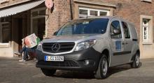 Mercedes Citan baseras på samma plattform som Renault Kangoo och påverkas därför också av bromsproblemen.