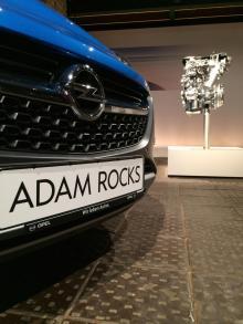 Opel Adam Rocks är första Opeln som får den nyutvecklade turboladdade trecylindriga ECOTEC-motorn på en liter.