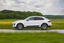 Porsche Macan S Diesel rör sig avslappnat på vägen och upplevs aldrig som överspänd och stötig.