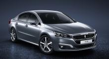 Peugeot 508 2015.