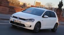 Volkswagen Golf GTE 2014.