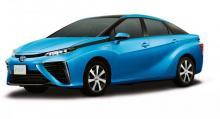 Vätgasbilen Toyota Fuel Cell Sedan kommer till Europa under 2016.