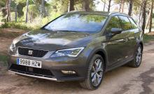 Calle Carlquist har även hunnit med provkörning av Seat Leon ST X-perience och uppdaterade Audi A6.