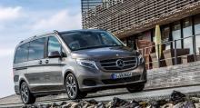 Nya Mercedes V-klass klarade sig bäst i klassen när Euro NCAP testade bilens krocksäkerhet.