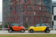 Smart Fortwo/Forfour 2014.