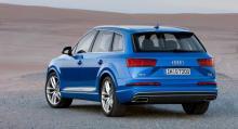 Helt nya Audi Q7 gör debut på bilsalongen i Detroit i januari.