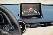 HMI-commander med 7-tums pekskärm och navigation får man redan i mellanversionen, Vision.