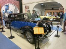 Bugatti Type 57 från 1936 tillverkades i 905 exemplar och köptes så småningom av bilhistorikern Curt Borgenstam.