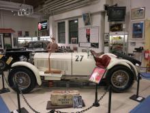 En av blott 42 tillverkade Mercedes SSK -29 har hamnat i Köping tack vare bilhistorikern Bertil Lindblad.