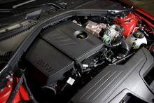 1,6-motorn med turbo ger 136 dragvilliga hästkrafter.