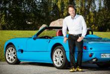 Torbjörn von Braun såg potential hos den svensktillverkade sportbilen Indigo. Tillsammans med en grupp investerare har köpte han i år upp hela bilfabrikens resurser.