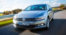 Volkswagen Passat, en av sju finalister i Årets bil 2015.