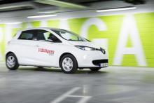 Renaults elmotor ger 88 hk effekt och 250 Nm vridmoment.