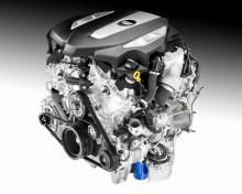 LGW är den vassare av de två nya V6-motorerna med 400 hk och 543 Nm.