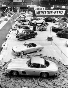 Mercedes 190 SL fyller 60 år.