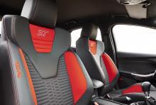 Skålade Recaro-stolar ska förstärka känslan av att ST är en sportigare variant än moderbilen Focus.