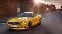 Ford Mustang har landat i Europa