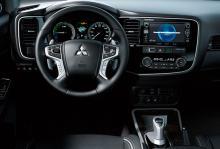 Mitsubishi Outlander PHEV uppdateras