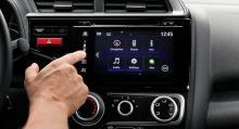 Sjutums display och appbaserade tjänster i Comfort och Elegance.