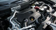 I motorrummet på X-Trail finns numera också DIG 163 – Nissans direktinsprutade bensinmotor på 163 hk. Den gör ett bra jobb också här.