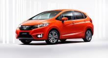 Bästa kompaktbil: Honda Jazz.