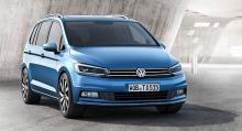 Bästa lilla MPV: Volkswagen Touran.