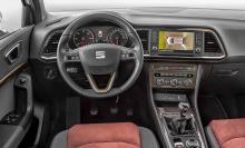 På förarplats känns mycket igen från VW-koncernens övriga modeller, även om Seat satt sin prägel på vissa detaljer.