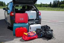 Levorg sväljer mycket bagage och har praktiska fack men mattan är både billig och svårstädad.