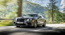 Continental Supersports – världens snabbaste bil med baksäte.