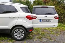 Öppna bakdörren och du förlänger bilen med 125 cm! För 2200 kronor kan du få ett reservhjul monterat på dörren. I standardutförande medföljer en däckreparationssats.
