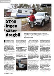 Konsumentfall: Volvo XC90 funkar inte som dragbil.