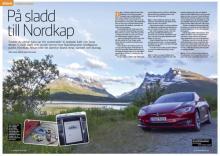 Resereportage: Med en Tesla till Nordkap.