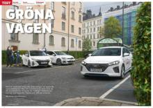 Laddhybrid-fajt mellan Hyundai Ioniq, Toyota Prius och Volkswagen Golf GTE.