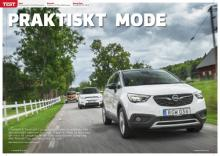 Opel Crossland X möter Renault Captur och SsangYong Tivoli.