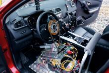 Bilen som styrs med hjärnan