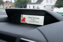 Svårt att komma ihåg födelsedagar? Impreza har en påminnelsefunktion.