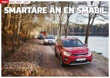 Småsuvskamp mellan Citroën C3 Aircross, Kia Stonic och Seat Arona.