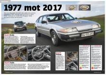 Årets Bil 1977 ställs mot Årets Bil 2017. Vem vinner?