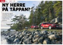 Volvo XC40 ställs mot Jeep Compass och Volkswagen Tiguan.