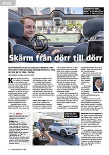 Ny Bil: Elbilen från Byton kommer till Sverige om två år.