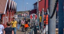Tjörns centralort Skärhamn är starkt präglad av både fiske och turism. Kombinationen har skapat vackra promenadstråk och bra service.