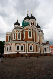Alexander Nevskij-katedralen i Tallinn – ett omtvistat arv från Ryssland.