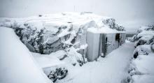 Utsidan ska bevaras men Södra Åbergsfortet håller på att tömmas för att sedan stängas för gott.