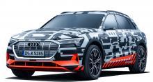 Eldrivna Audi e-tron lanseras i början av 2019 och blir först att kunna ladda med 150 kW. En laddstation som nu byggs i Kristinehamn kan leverera 350 kW. Tekniken kommer från ABB, transformator och effektmoduler sitter i separata skåp.