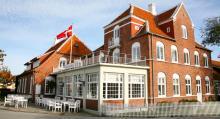 Klassiska Brøndums Hotel där många av Skagenmålarna bodde för snart 150 år sedan.